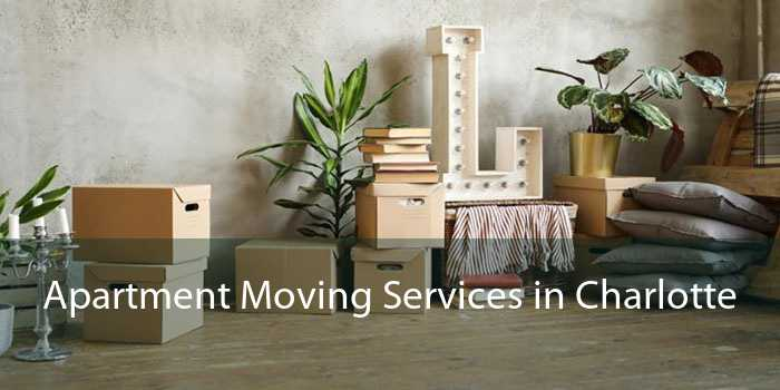 Apartment Moving Services in Charlotte