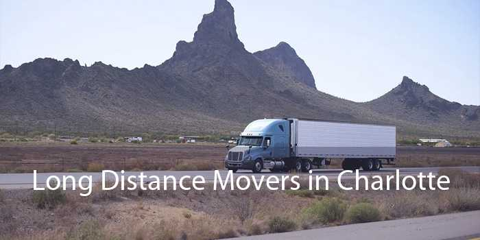 Long Distance Movers in Charlotte