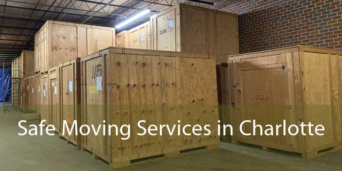 Safe Moving Services in Charlotte